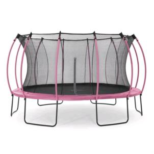 Plum® 426cm Colours Springsafe® Trampolin mit Netz pink 30391