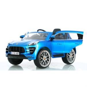 Rollplay PORSCHE MACAN TURBO 6V SUV RC blau W416-RC21222