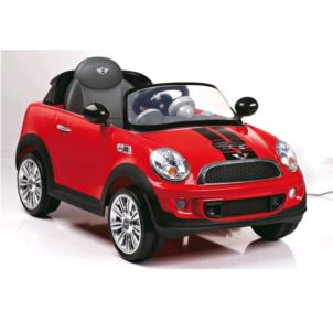 ROLLPLAY Mini Cooper S Coupe 6V RC rot 22412