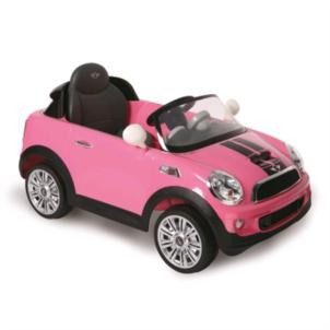 ROLLPLAY Mini Cooper S Coupe 6V RC pink 22492