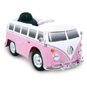 ROLLPLAY VW Bus T2 6V pink 29291