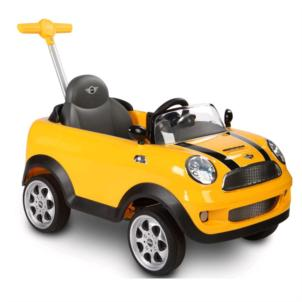 Rollplay Mini Cooper Push Car gelb ZW455 42583