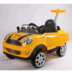 Rollplay Mini Cooper Push Car gelb ZW455 42583