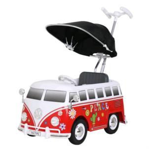 ROLLPLAY VW Bus T2 Flower Power Push Car 49313