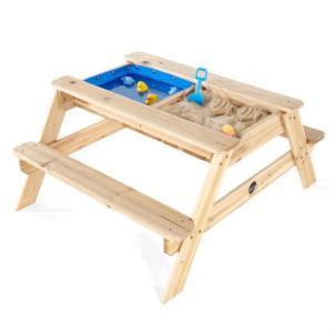 Plum Sandkasten mit Wasserbecken und Picknicktisch aus Holz 25078