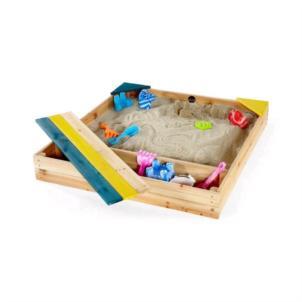 Plum® Kinder Sand Spielzeug Sandkasten mit Aufbewahrungsbox 25069