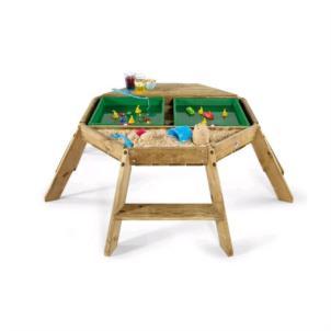 Plum® Oktagon Spieltisch aus Holz 25504