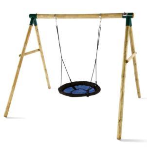 Plum® Spider Monkey Holz-Netzschaukel 27440