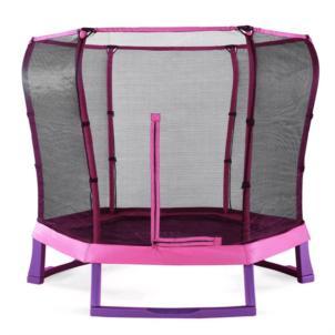 Plum® Junior Jumper Springsafe® Trampolin Ø 213cm pink/lila 30197
