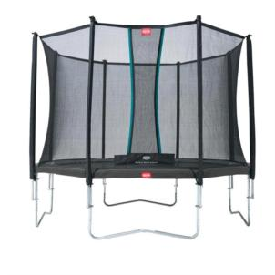 BERG Trampolin Favorit Grey Ø 430cm + Sicherheitsnetz Comfort 35.14.94.00