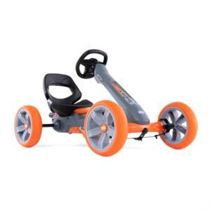 BERG Gokart Reppy Racer mit Soundbox grau/ orange 24.60.01.00