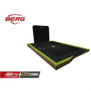 BERG ULTIM ELITE FLATGROUND 500 GREY + AEROWALL 2X2 BLK&BLK 32.41.45.30