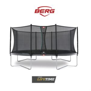 BERG Grand Favorit Regular 520 (520x345) Grau + Sicherheitsnetz Comfort 30.25.65.31