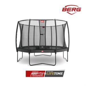BERG Champion Regular Ø 330 Grau + Sicherheitsnetz Deluxe 35.41.93.02