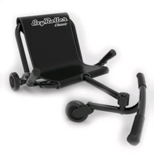 EzyRoller Classic Kinderfahrzeug Sitz-Dreirad schwarz EZR1BL