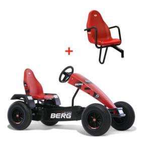 BERG Gokart XL B.Super Red BFR 07.10.23.00 + Soziussitz