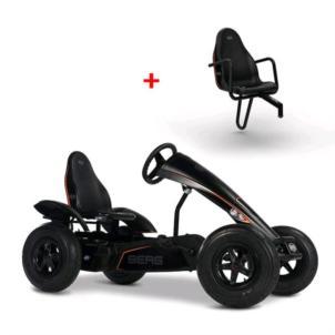 BERG Gokart Black Edition BFR-3 07.20.05.00 + Sitz