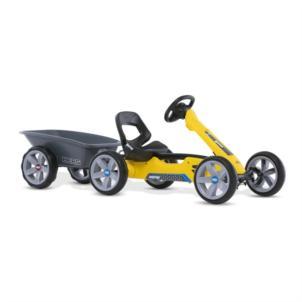 BERG Gokart Reppy Rider gelb 24.60.00.00 + BERG Anhänger M 18.24.60.00